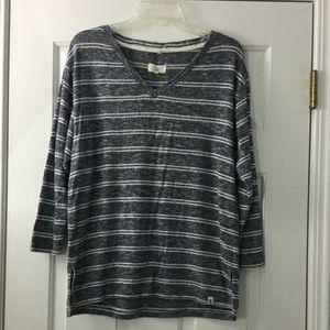 Lou & Grey Striped Knit Top